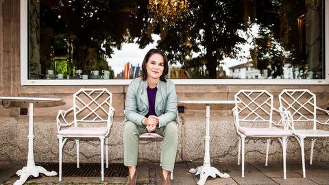 Annalena Baerbock während ihrer Wahlkampftour