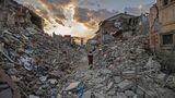 24. August: In Amatrice bebt die Erde