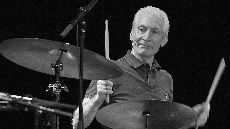 Rolling Stones Schlagzeug Charlie Watts