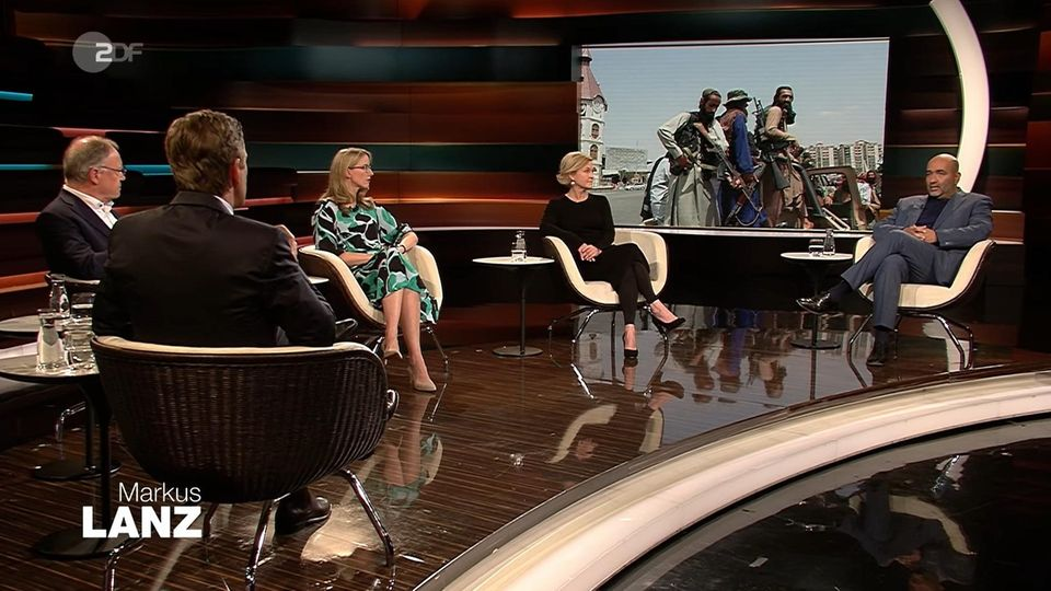 Markus Lanz: Screenshot aus Sendung vom 24. August