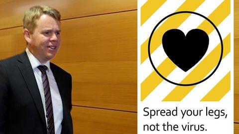 Neuseeland: Corona-Minister sorgt mit Versprecher für Lacher