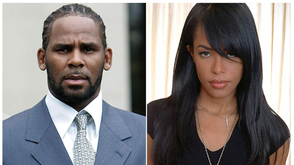 R. Kelly und Aaliyah