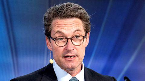 Bundesverkehrsminister Andreas Scheuer von der CSU