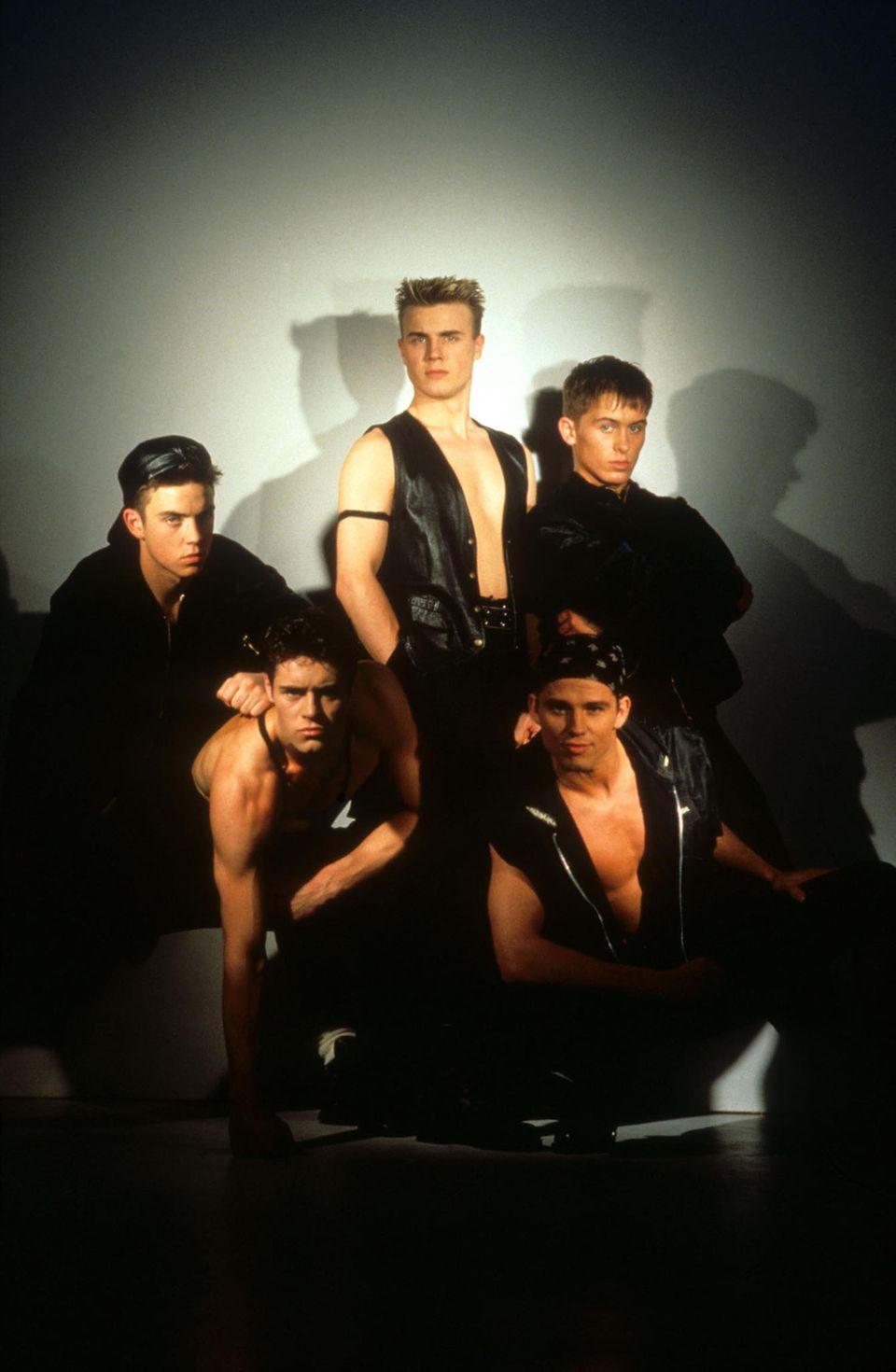 Die britische Boygroup Take That