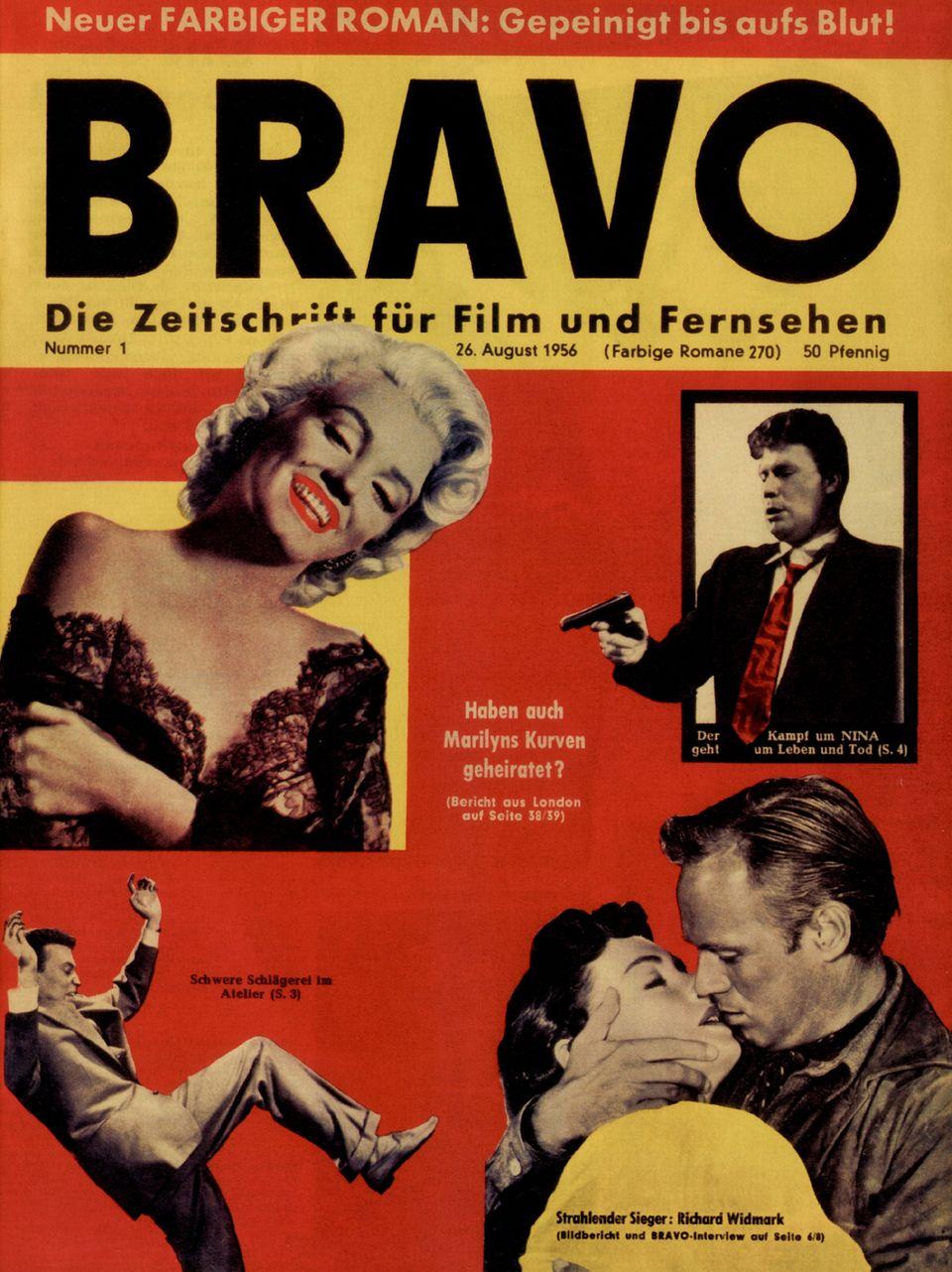 """Das Titelbild der """"Bravo""""-Erstausgabe"""