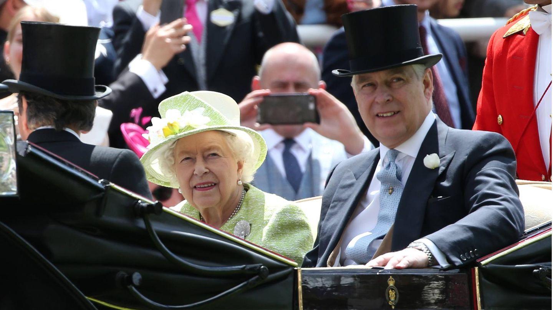 Queen Elizabeth II. und Prinz Andrew