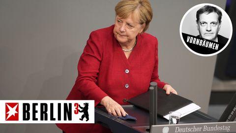 Berlin hoch 3 - Axel Vornbäumen über Angela Merkel