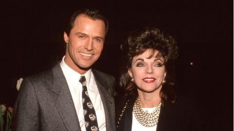 Michael Nader (l)und Joan Colins (Archivfoto)