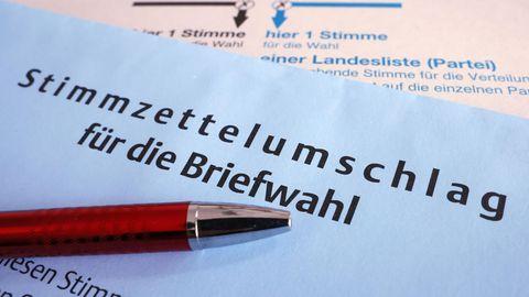 Bundestagswahl 2021: Wahlscheine und bunte Umschläge: Was es bei der Briefwahl zu beachten gibt