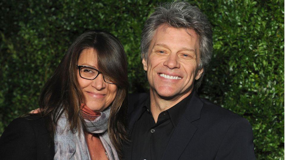 Dorothea Hurley und Jon Bon Jovi
