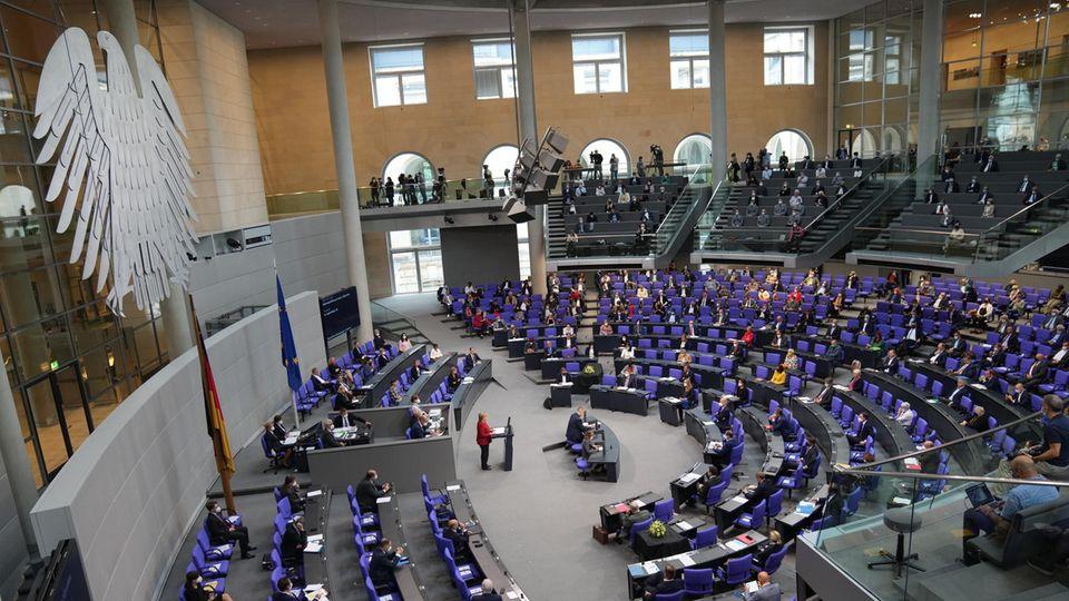 Bundestagsdebatte