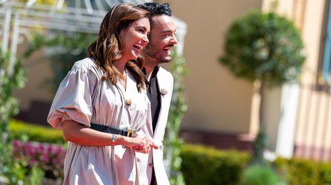 Jana Ina und Giovanni Zarrella freuen sich bei Bares für Rares