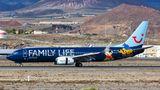 Der Ferienflieger Tuifly ist für seine auffälligen, teilweise auch von Hotelketten gesponsorten Werbe-Flugzeuge vom Typ 737 bekannt.