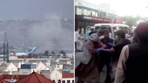 Mehrere Tote nach Explosionen am Kabuler Flughafen