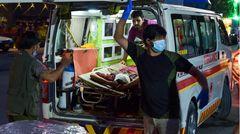 Krankenwagen am Kabul-Airport