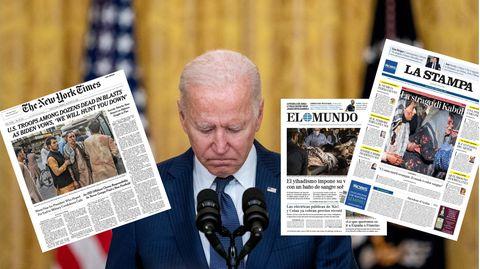 US-Präsident Joe Bidenhält inne