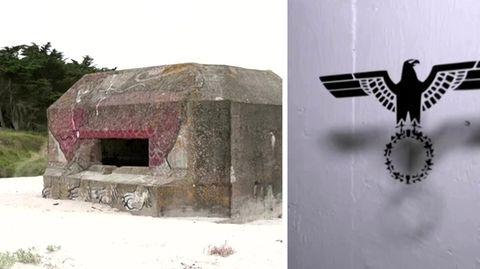 Ehemaliger Nazi-Bunker ist jetzt ein Hotel in der Bretagne