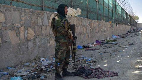 Ein Taliban-Kämpfer