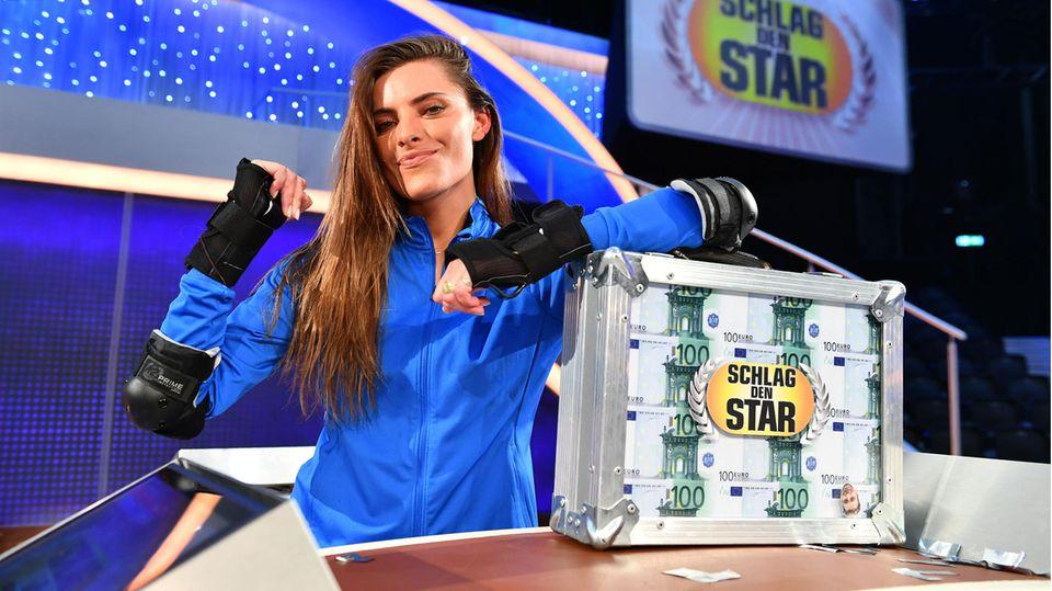 """Sophia Thomalla gewinnt """"Schlag den Star"""""""