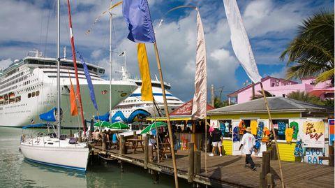 St. Johns auf Antigua