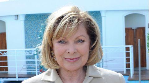"""Schauspielerin Heide Keller alias Chefhostess Beatrice von Ledebur aus der ZDF-Sendung """"Das Traumschiff"""" (Archivbild von 2009)"""