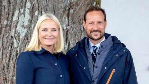 Kronprinz Haakon und Kronprinzessin Mette-Marit in Norwegen