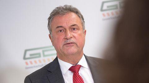 Unbeirrbar: Claus Weselsky, Vorsitzender der GDL, ruft zur dritten Streikwelle auf