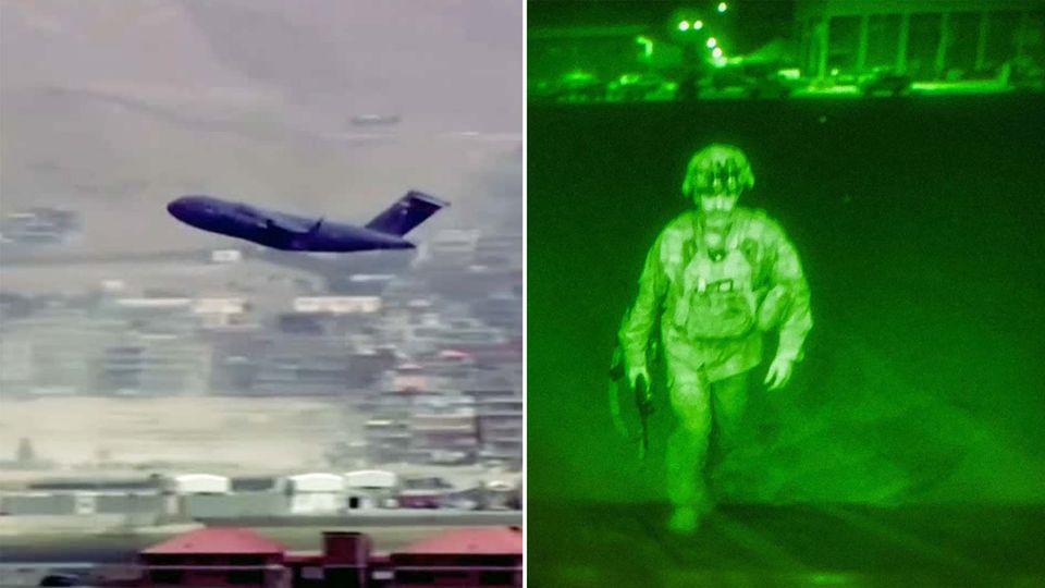 """Afghanistan: Hier fliegt die letzte C-17 aus Kabul: """"Abzug mit Herzschmerz"""""""