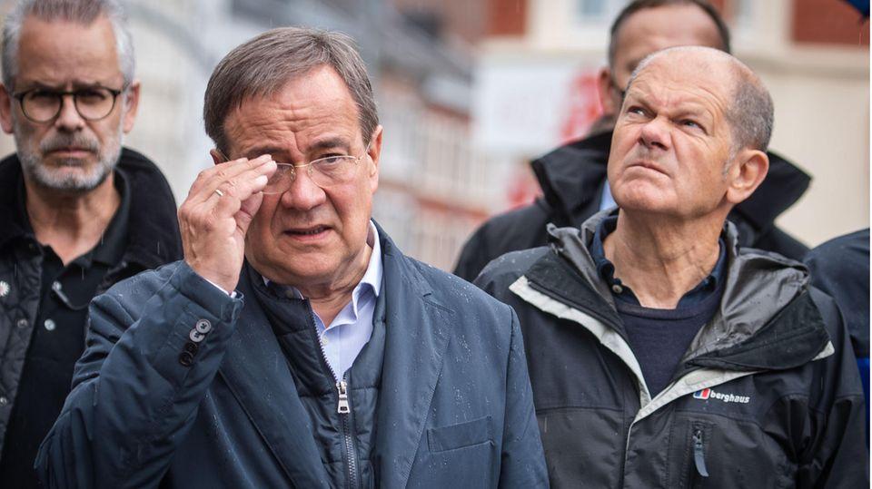 Armin Laschet und Olaf Scholz
