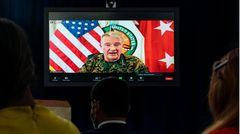 General Kenneth McKenzie, Befehlshaber des US-Zentralkommandos, verkündet das Einsatzende