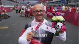 Vico Merklein, 44, Silber im Handbike-Einzelzeitfahren