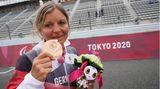 Kerstin Brachtendorf, 49, Bronze im Zweirad-Einzelzeitfahren (C5)