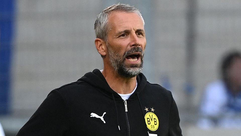 Marco Rose Borussia Dortmund 2021