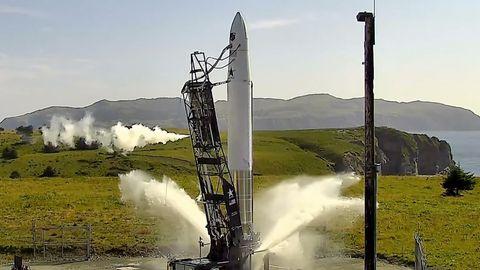 Fehlstart: Astra-Rakete driftet beim Start zur Seite
