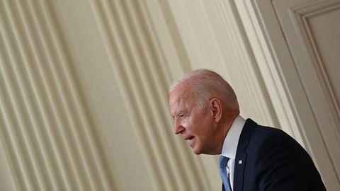 Joe Biden hält Rede