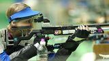Natascha Hiltrop, 29, Gold im Zehn-Meter-Wettbewerb mit dem Luftgewehr (SH1)