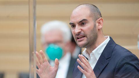 Danyal Bayaz, Finanzminister von Baden-Württemberg will Steuerbetrug bekämpfen