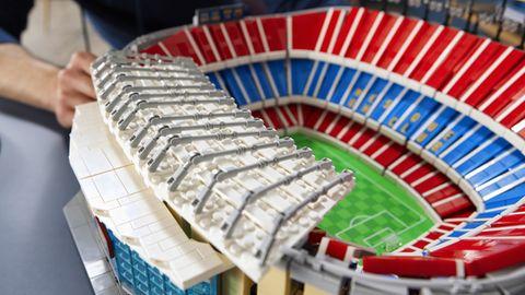 Lego Neuheiten 2021: Das Camp Nou FC Barcelona als Lego-Modell