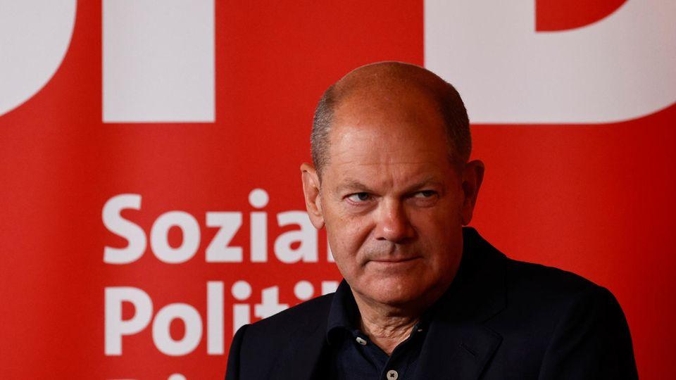 SPD-Spitzenkandidat Olaf Scholz