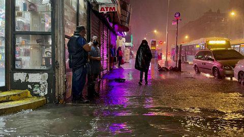 Überschwemmung New York