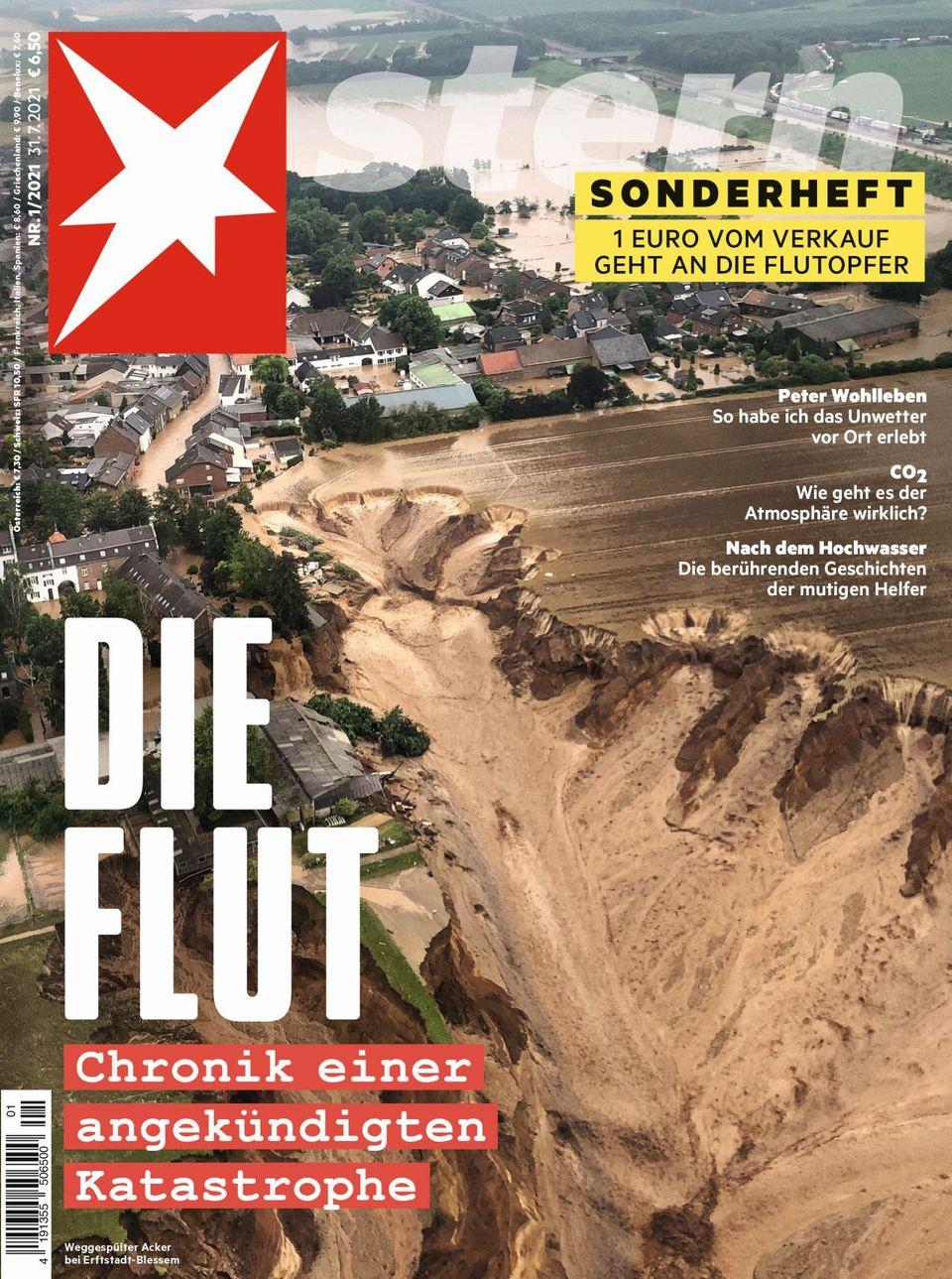 Cover Sonderheft Die Flut