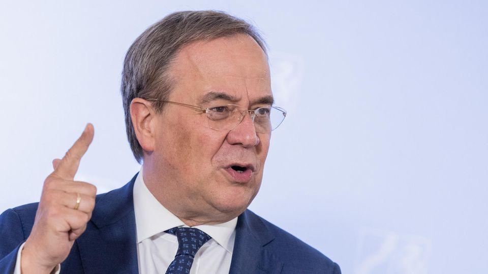 Armin Laschet möchte gern für die Union das Kanzleramt von Angela Merkel übernehmen