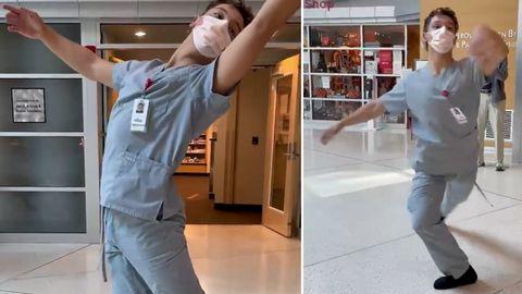 Krankenpfleger Teva Martinson überrascht mit eindrucksvoller Ballettaufführung in Krankenhaus in Utah.