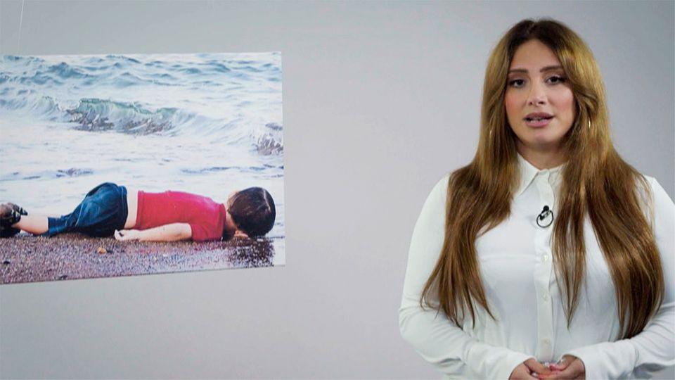 Enissa Amani spricht am Todestag von Alan Kurdi