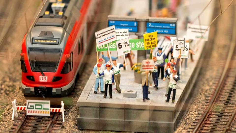 GDL-Streik im Miniatur Wunderland