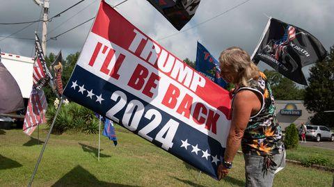 Trumps Anhänger bereiten schon den Wahlkampf für 2024 vor