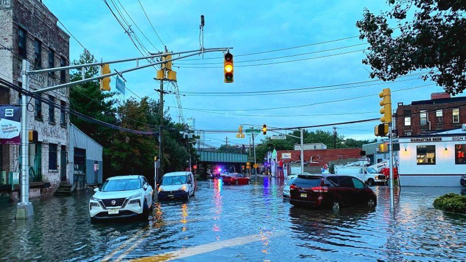 """New Jersey nach Sturm """"Ida"""""""