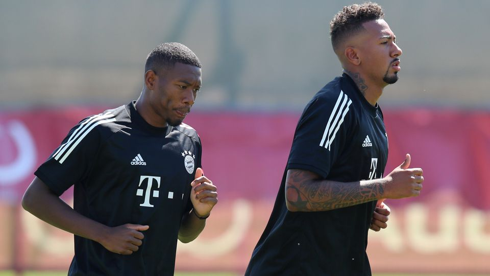 David Alaba Jérome Boateng Bayern München