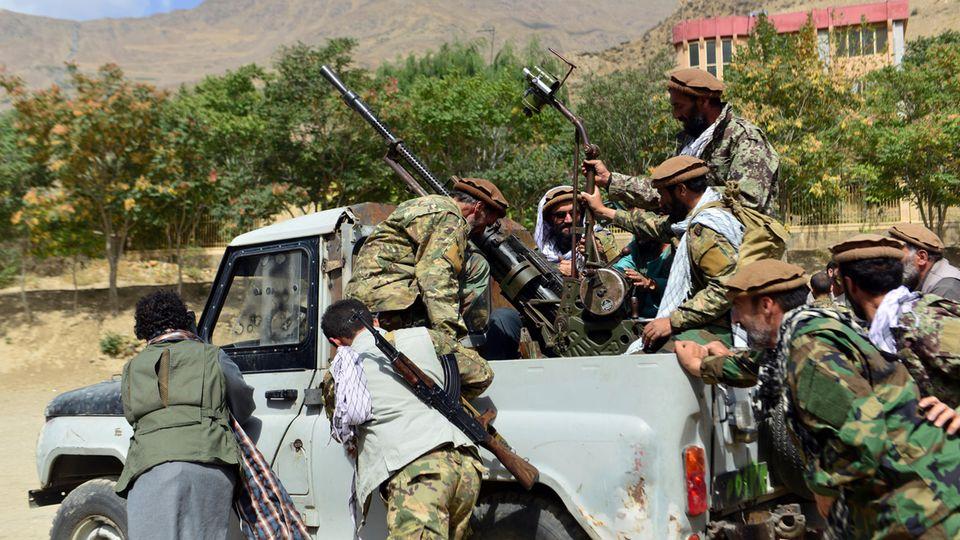 Im Pandschir-Tal kämpft der Widerstand gegen die Taliban (Archivbild)