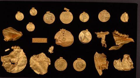 Ein 1500 Jahre alter Goldschatz wurde in Dänemark gefunden